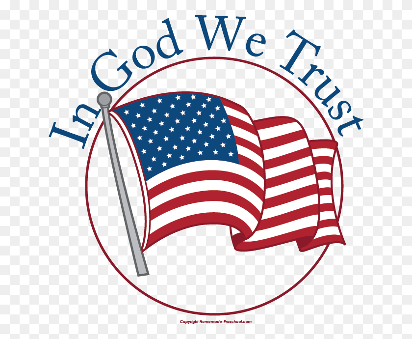Little Patriotic Flag Clip Art - Patriotic Banner Clipart