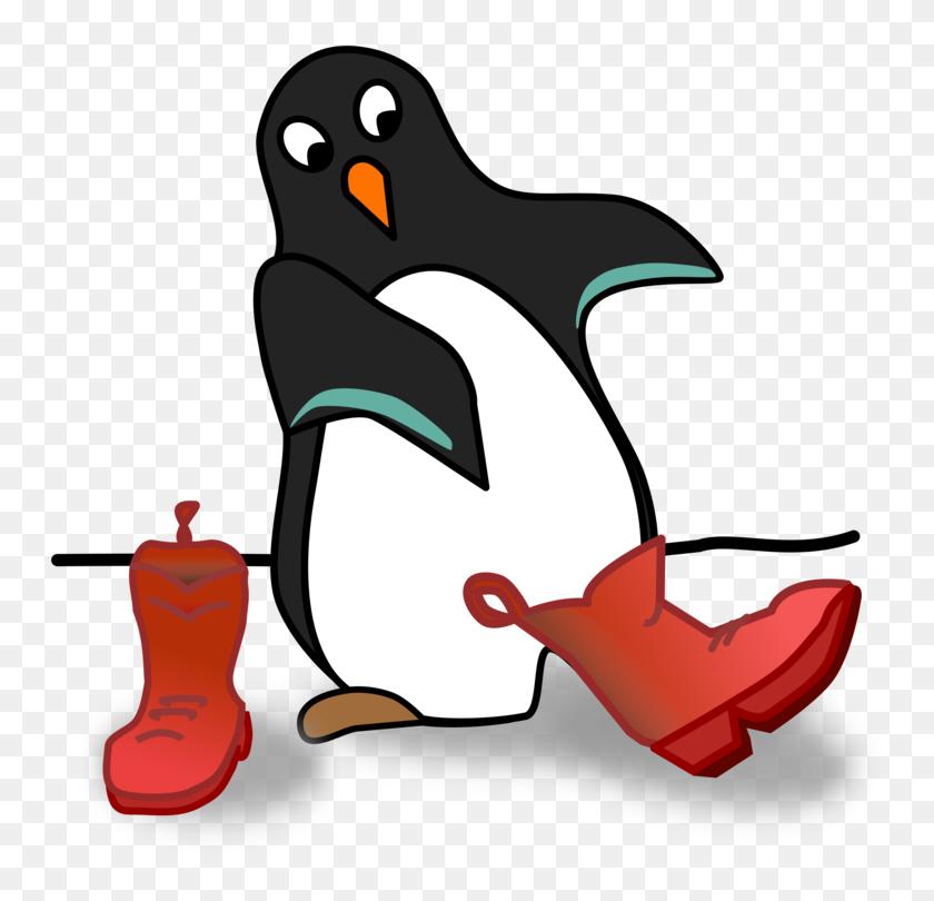 Little Penguin Flightless Bird Drawing - Little Bird Clipart