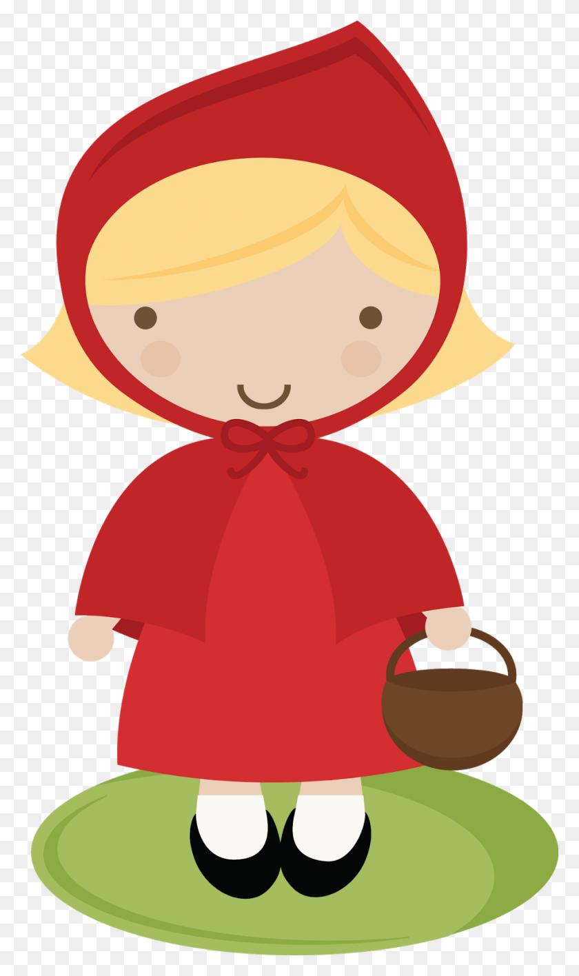 Little Red Riding Hood Clip Art Look At Little Red Riding Hood - Wizard Of Oz Clipart