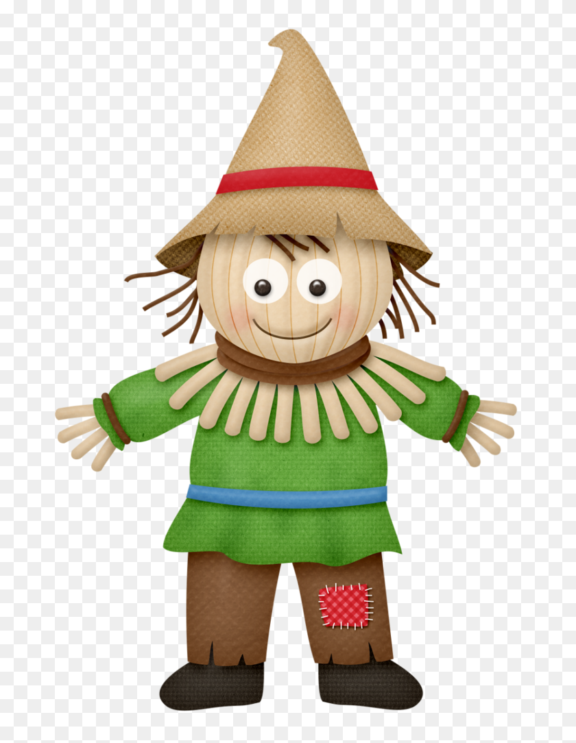 Lliella Ybrickrd Scarecrow Contes - Scarecrow Hat Clipart