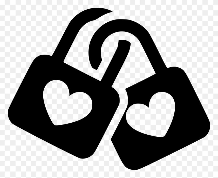 Lock Couple Together Anniversary Png Icon Free Download - Anniversary PNG