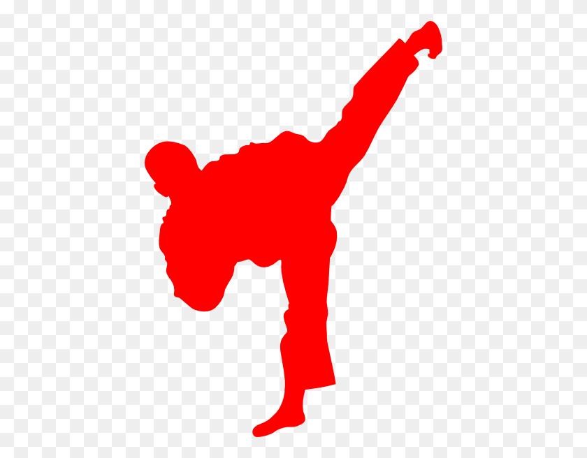 Logo En Rojo Para Taekwondo Clip Art - Taekwondo Clip Art