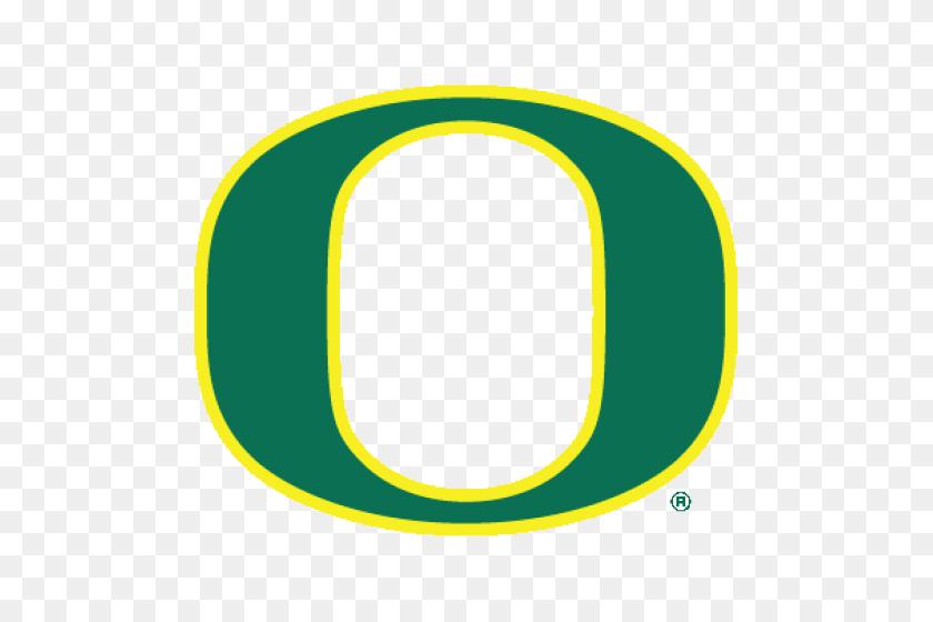 Logo University Of Oregon Ducks Green O Yellow Outline - Oregon Ducks Logo PNG