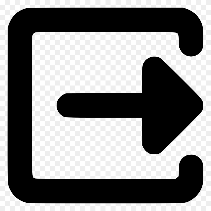 Logout Log Out Exit Sign Out Png Icon Free Download - Exit Sign PNG