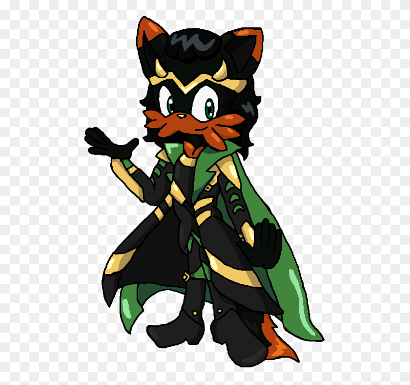 507x727 Loki His New Clothes - Loki Clip Art