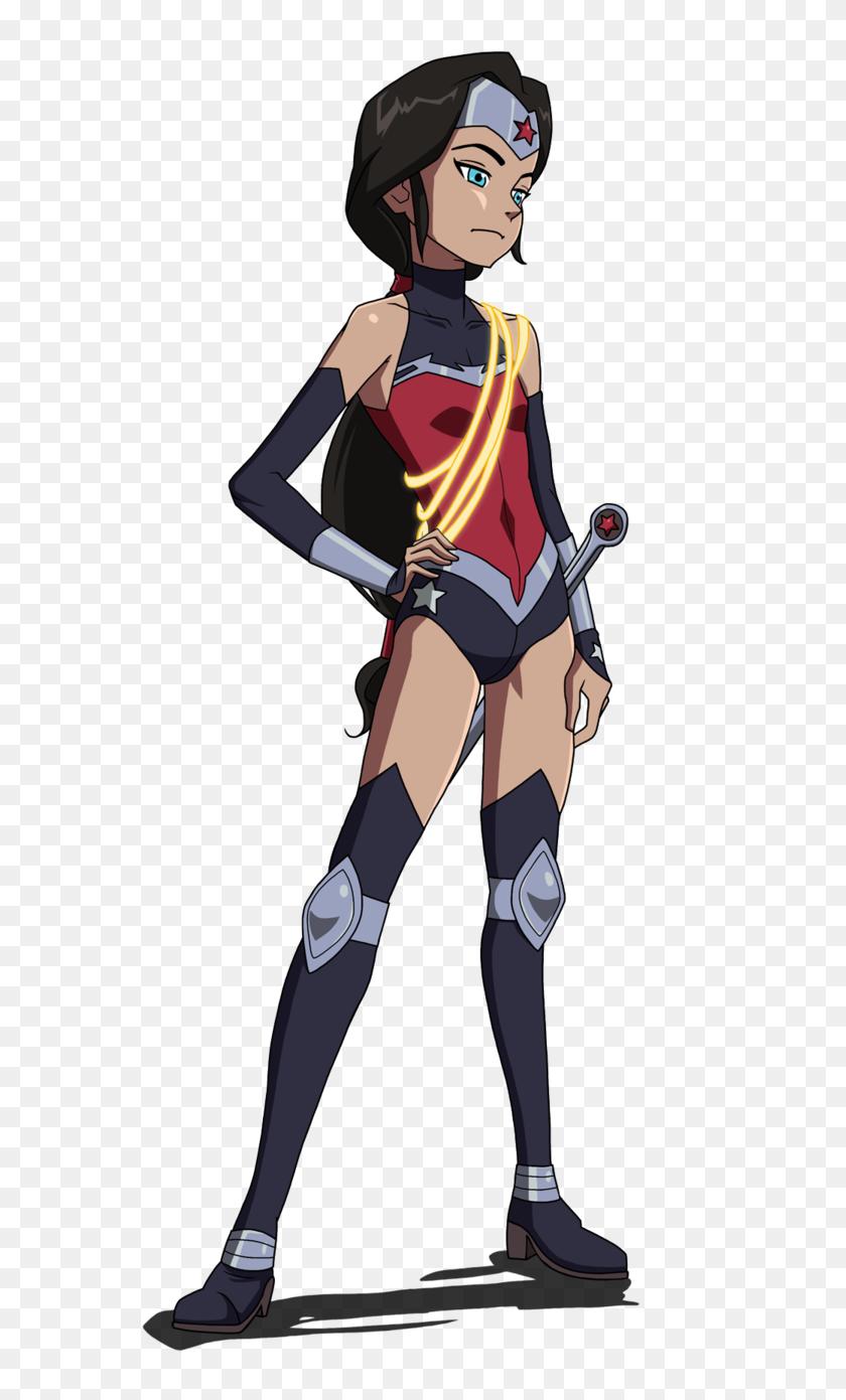 599x1331 Loli Wonder Woman - Loli PNG