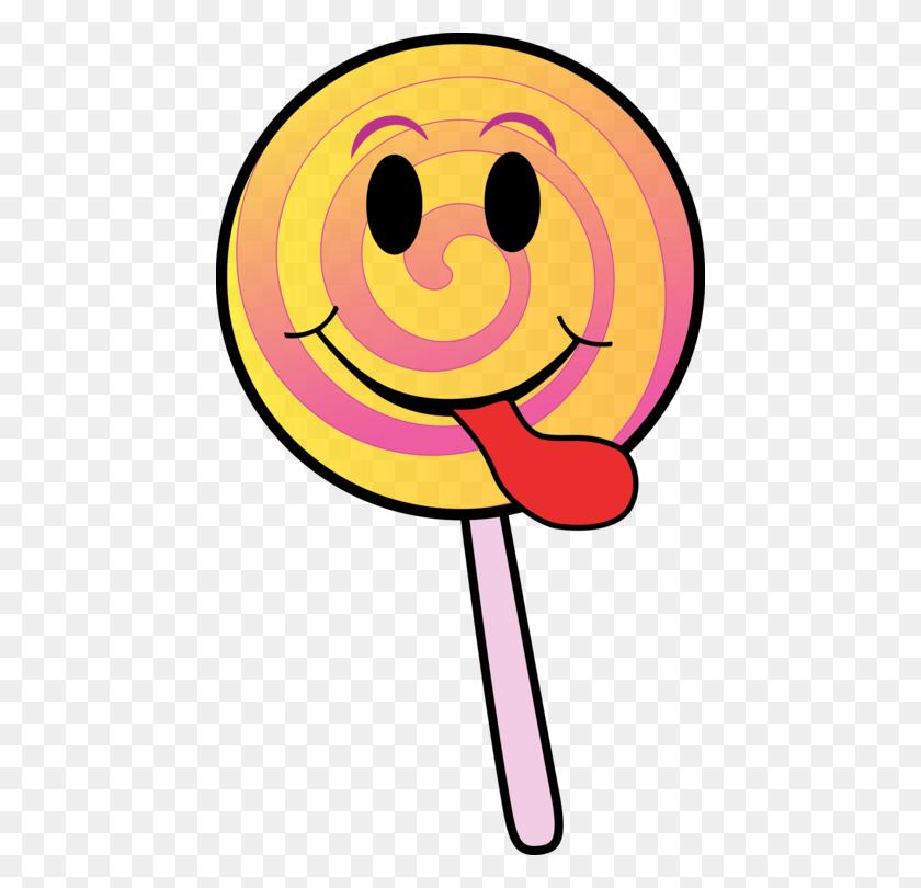 446x750 Lollipop Candy Cane Cartoon Drawing - Lollipop Clipart Free