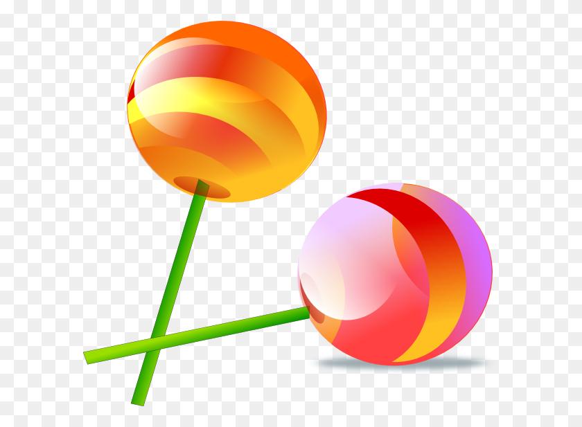 600x557 Lollipop Clip Art - Lollipop Clipart Free