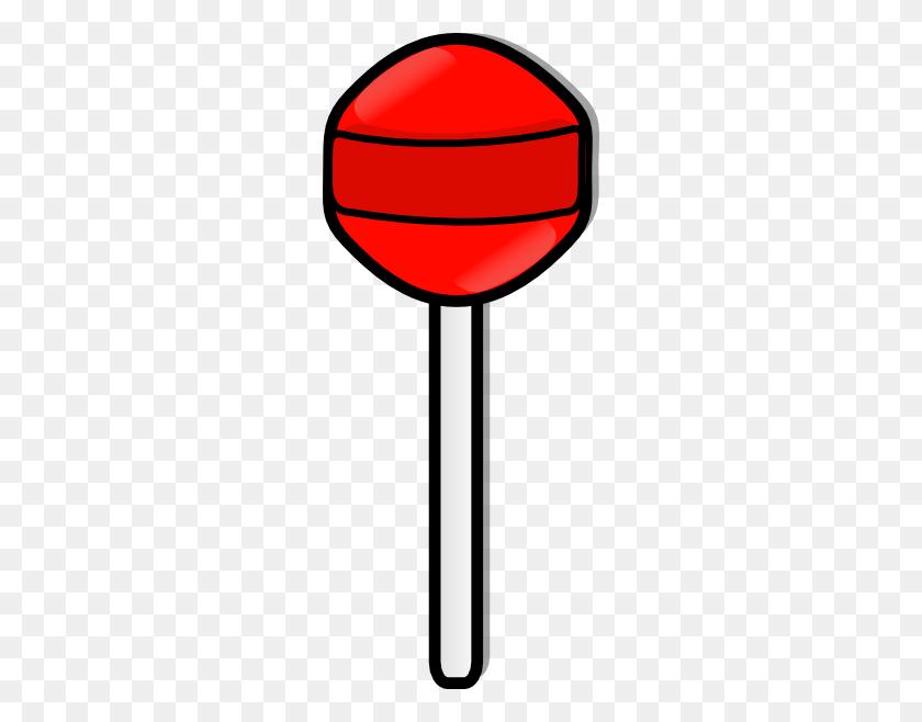 252x598 Lollipop Clip Art Free Vector - Lollipop Clipart