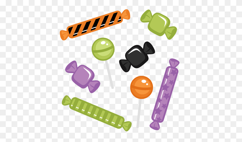 432x432 Lollipop Clipart Halloween - Lollipop Clipart Free