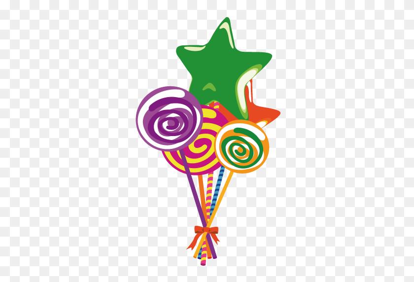380x512 Lollipop Clipart Simple - Lollipop Clipart Free