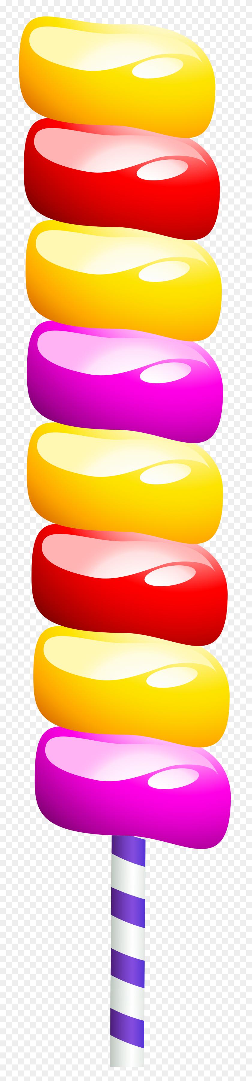 1765x8000 Lollipop Png Clip Art - Lollipop Clipart Free