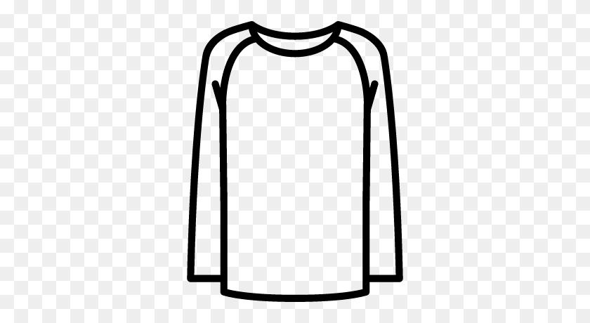 400x400 Long Sleeves T Shirt Free Vectors, Logos, Icons And Photos - Long Sleeve Shirt Clipart