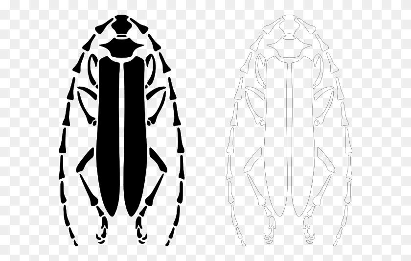 600x473 Longhorn Beetle Clip Art - Longhorn Clipart