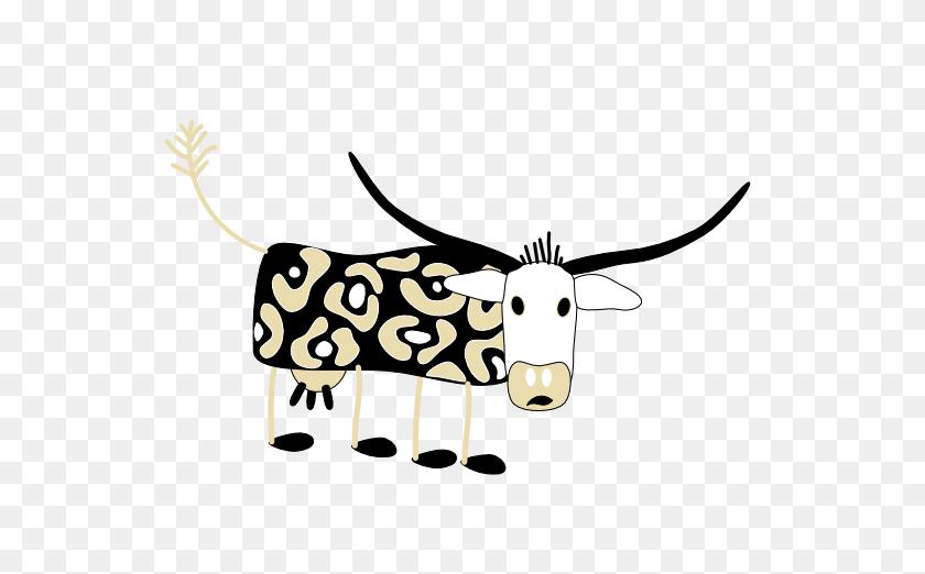 555x462 Longhorn Cattle Clipart - Longhorn Clipart