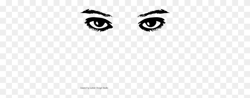 300x271 Looking Eyes Clip Art - Free Clipart Eyes
