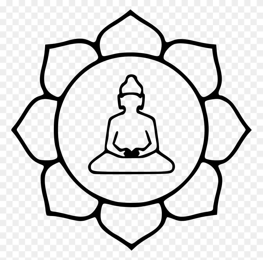 768x768 Lotus Buddha - Lotus PNG