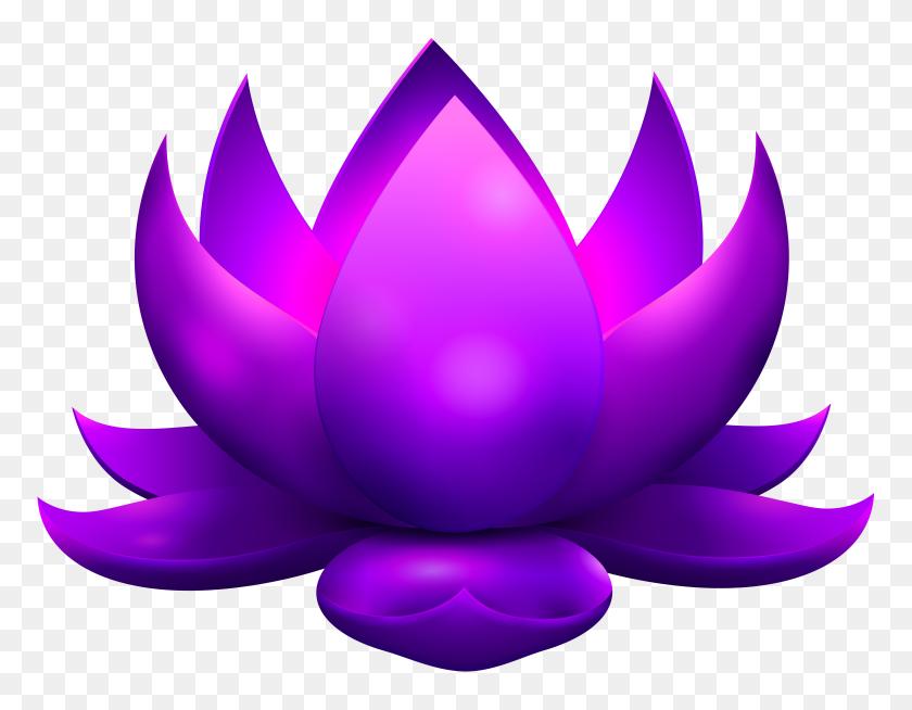 8000x6101 Lotus Clipart Png Clip Art Images - Symphony Clipart