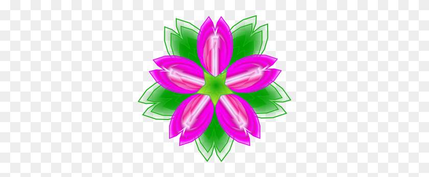 300x288 Lotus Flower Outline Clip Art Free - We Miss You Clipart