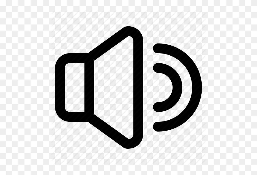 512x512 Loud, Speaker, Ui, Voice, Volume Icon - Loud Voice Clipart