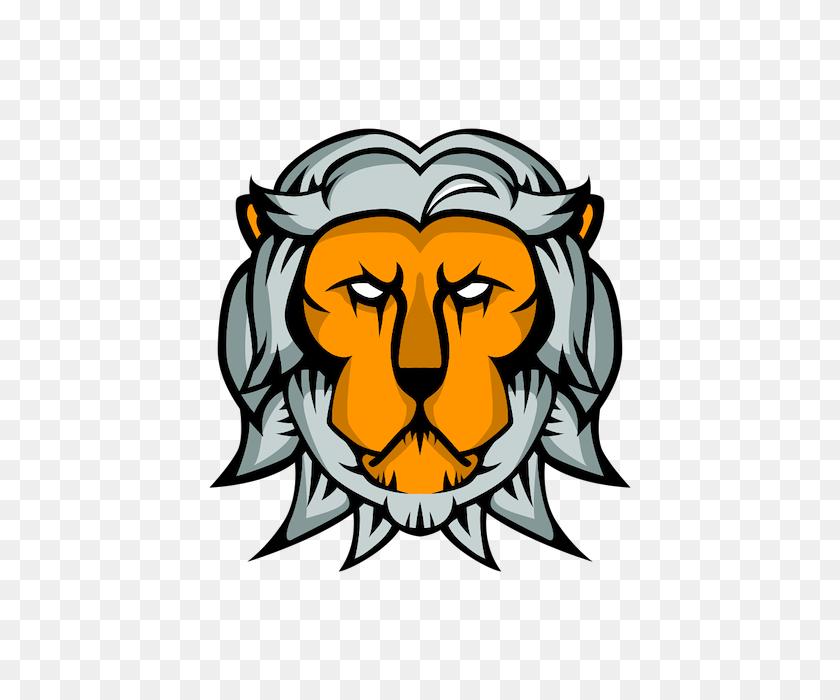 Louis W - Lion Mascot Clipart