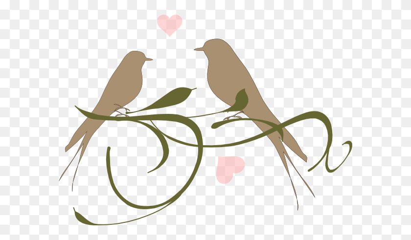 Love Bird Free Clipart Love Birds Clip Art Love Birds - Twig Clipart