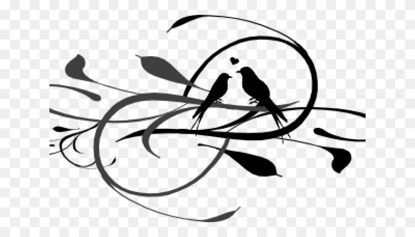 Love Bird Silhouette Clip Art Pink Love Birds Clip - Lovebird Clipart