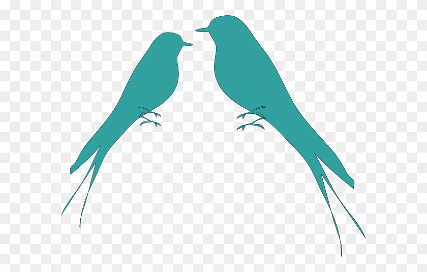 Love Birds Clip Art - Love Birds Clipart
