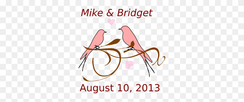 Love Birds Png, Clip Art For Web - Love Birds Clipart