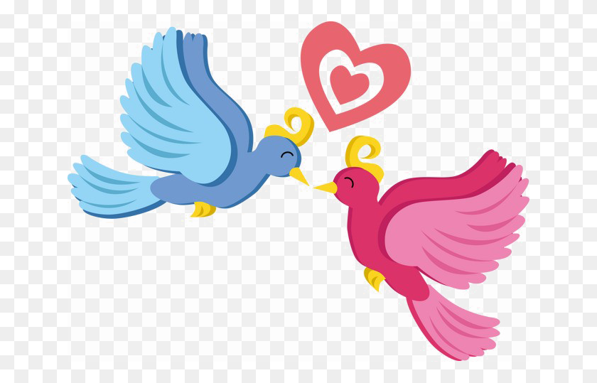 Love Birds Png Photo - Cartoon Bird PNG