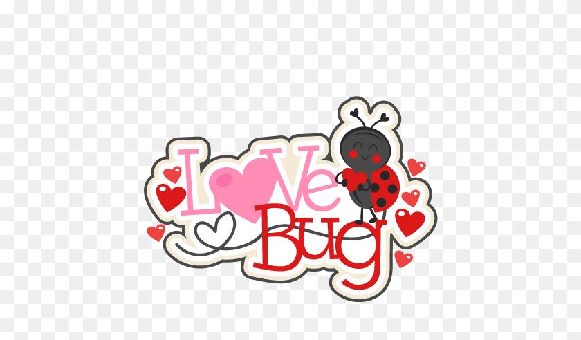 Love Bug Title Scrapbook Cute Clipart - Love Bug Clip Art