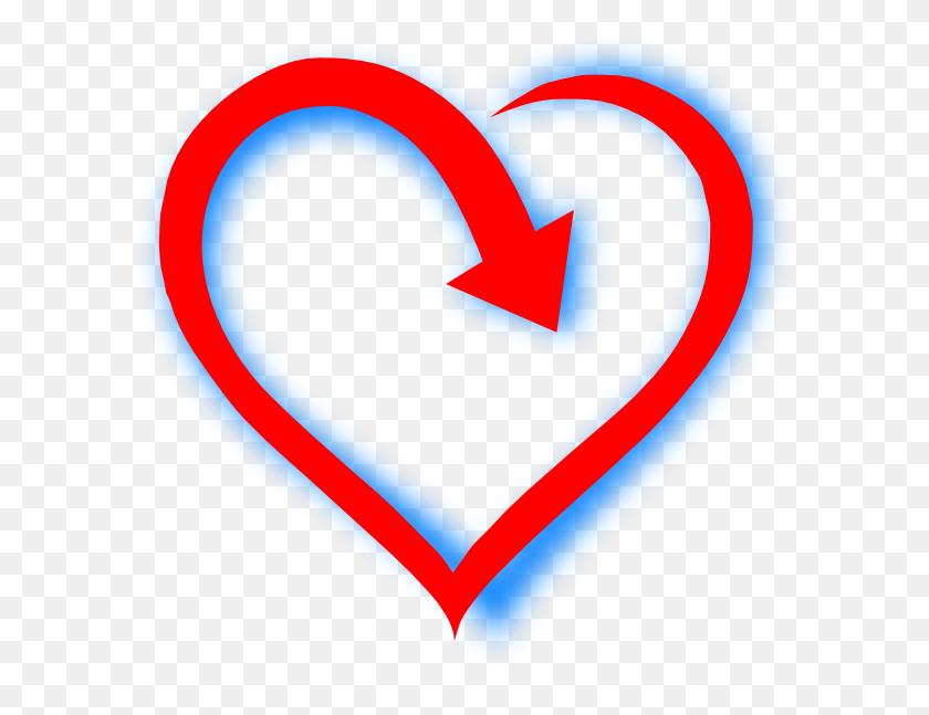 600x587 Love Clipart - Bleeding Heart Clipart