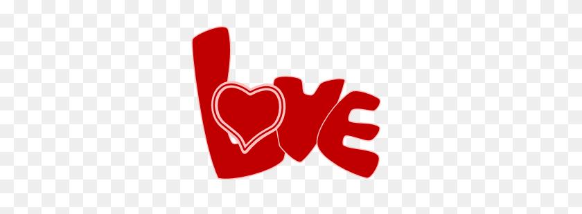 Love Clipart Word Art - Love Border Clipart