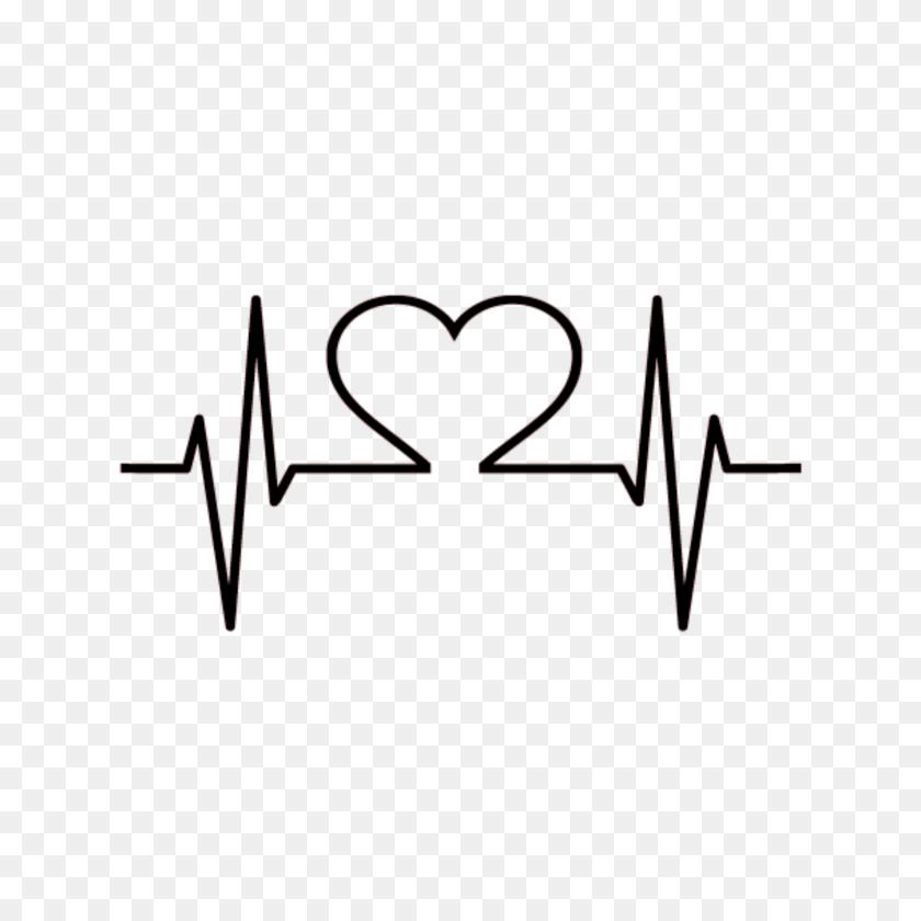 Love Heart Line Heartbreak Heartbeat Lifeline Black Dar - Lifeline Clipart