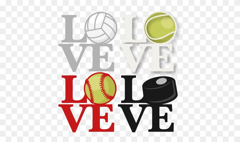 Love Sports Titles Scrapbook Cute Clipart Clip Art - Scrapbook Clipart
