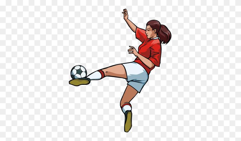 Lovely Clipart Soccer Player Teenage Girl Soccer Clipart Clipart Kid - Girl Soccer Player Clipart