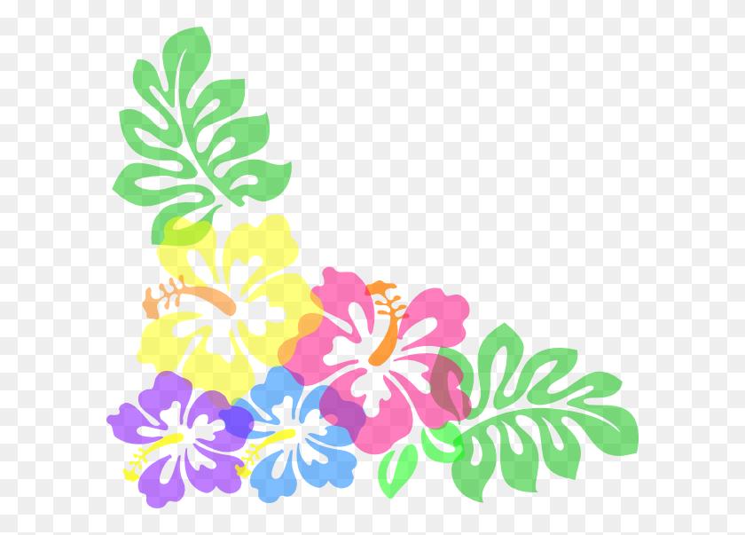 Luau Clip Art Borders Free - Luau Clipart