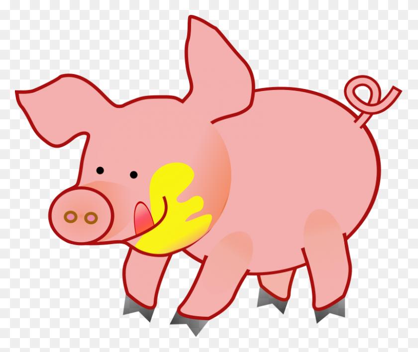Luau Clipart Pig, Luau Pig Transparent Free For Download - Luau Images Clipart