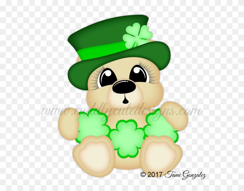 Lucky Bear Cuddly Cute Designs Bears - Lucky Clipart