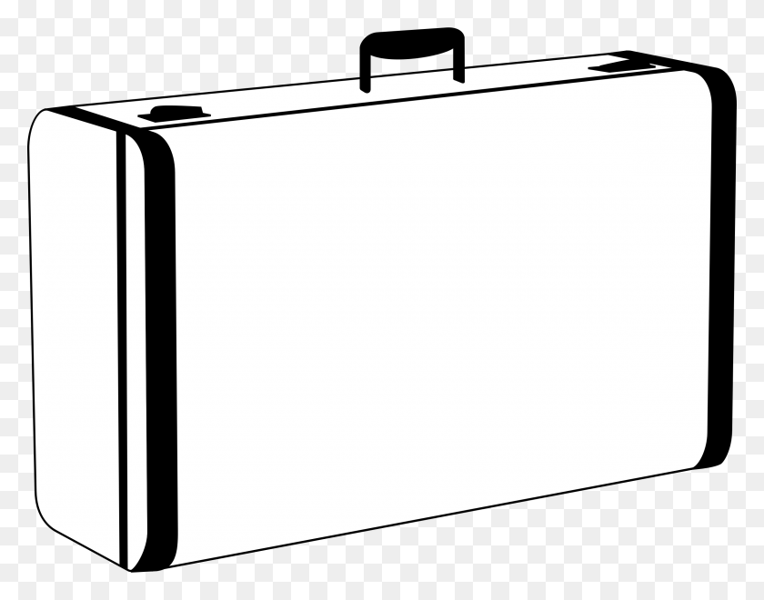 Luggage Clip Art Black And White For Kids - Golf Club Clipart Black And White