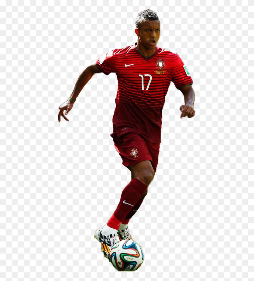 458x871 Luis Nani Football Render - Nani PNG