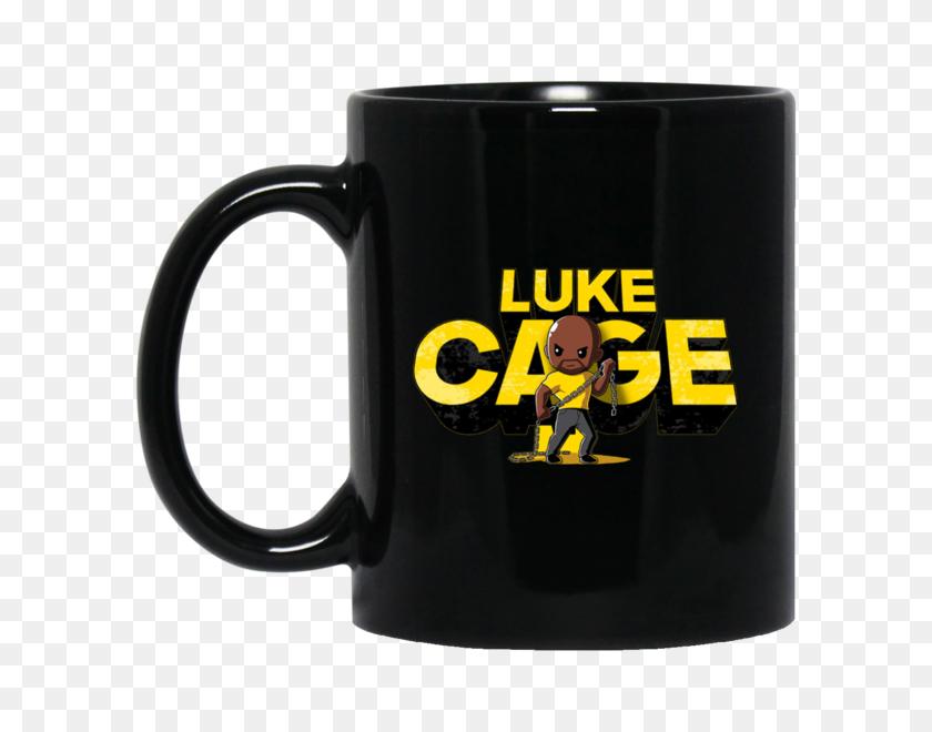 600x600 Luke Cage Mug - Luke Cage PNG