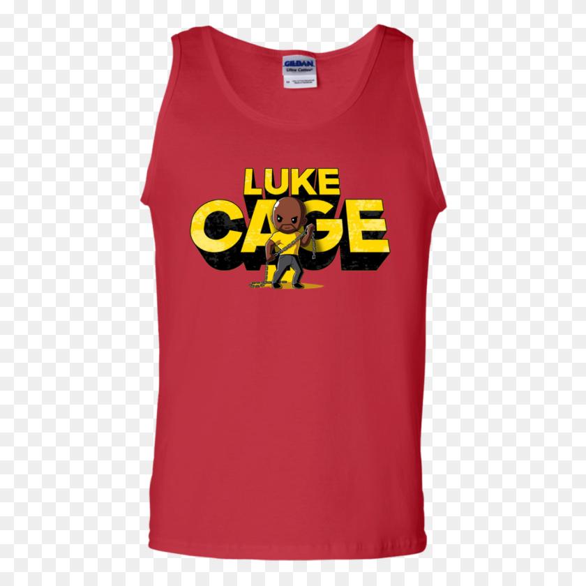 Luke Cage Tank Top - Luke Cage PNG