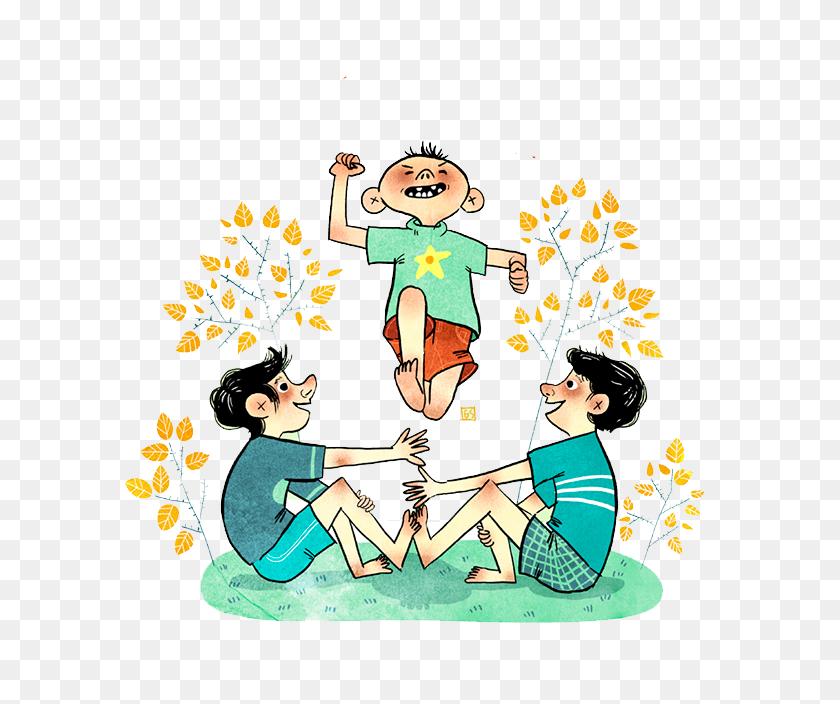 600x644 Luksong Tinik Clip Art - Free Friendship Clipart