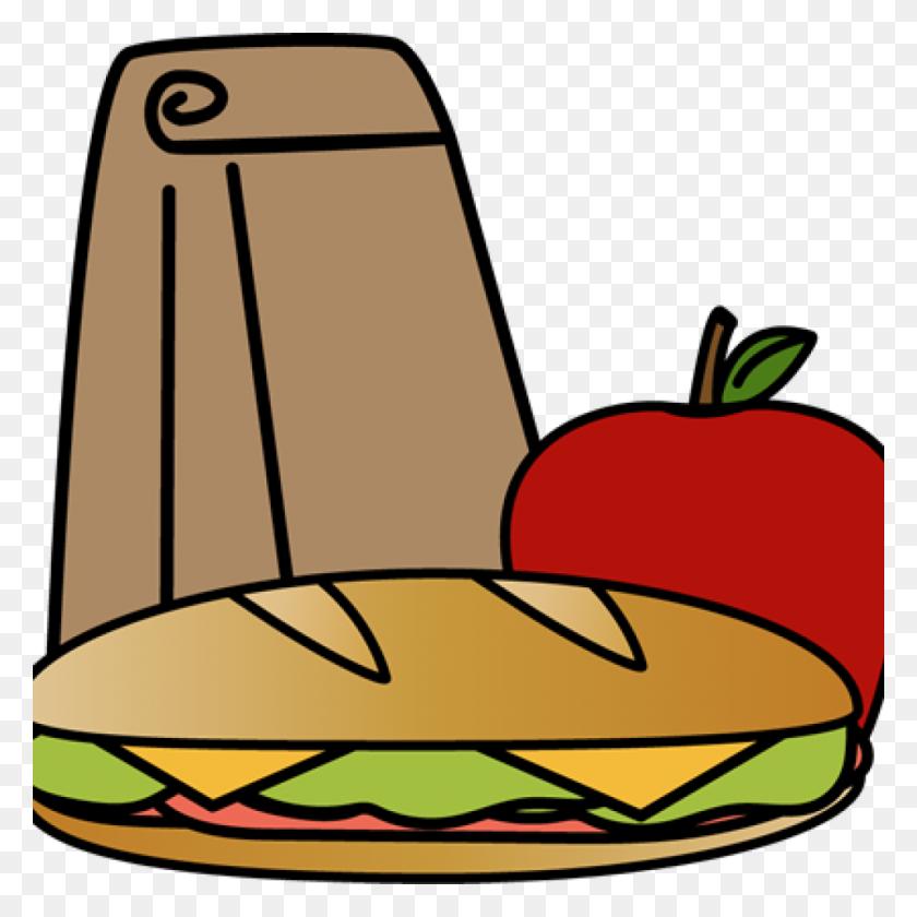 1024x1024 Lunch Clipart Bag Sandwich Clip Art Image History - Lunch Break Clipart