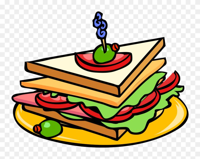 800x627 Lunch Sandwich Clipart, Explore Pictures - Sack Lunch Clipart