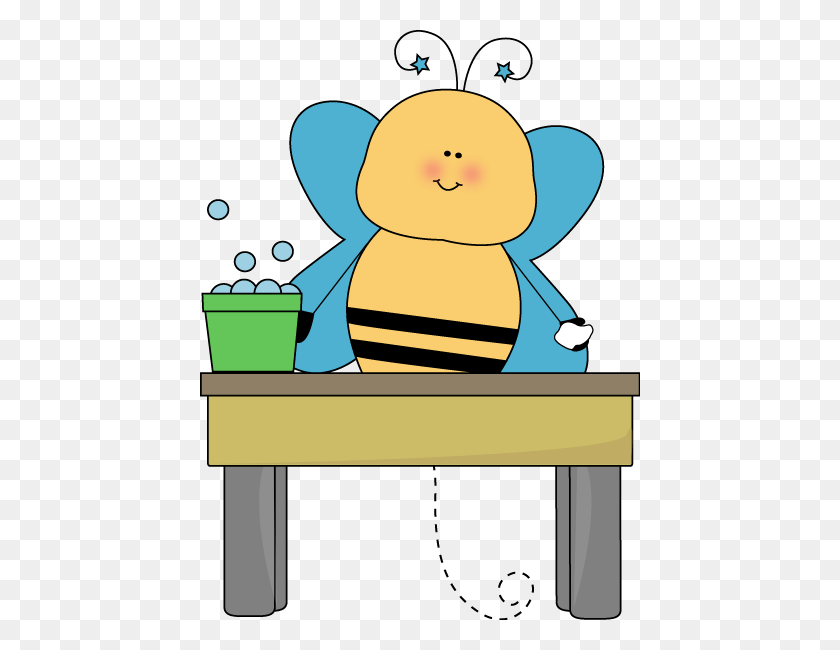 440x590 Lunch Table Clipart - Lunch Table Clipart