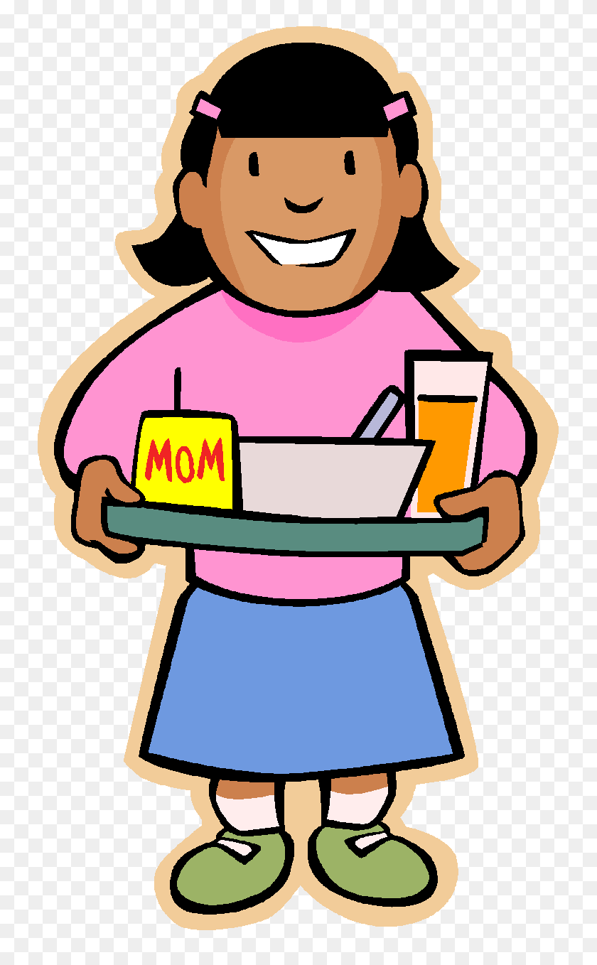 770x1298 Lunch Tray Clipart - Sack Lunch Clipart