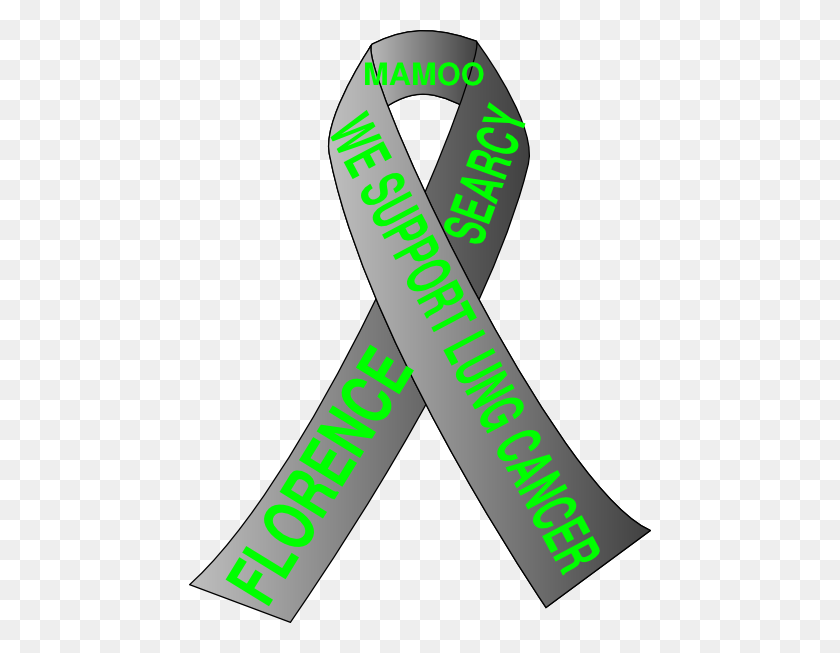 462x593 Lung Cancer Ribbon Mamoo Clip Art - Lung Cancer Clipart