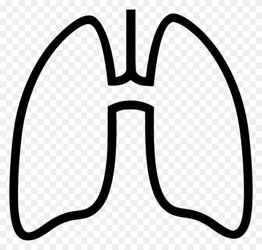 980x930 Lungs Png Icon Free Download - Lungs PNG